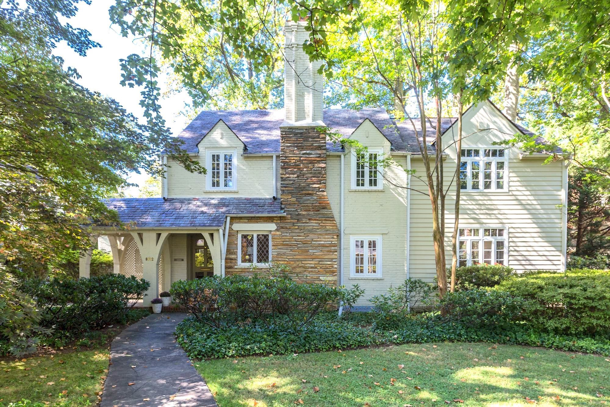 We are proud to present this stunning Tudor in Bethesda